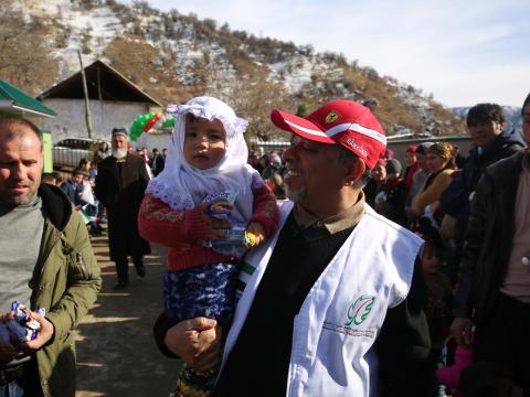 Developmental & constructional projects in Tajikistan, 2018